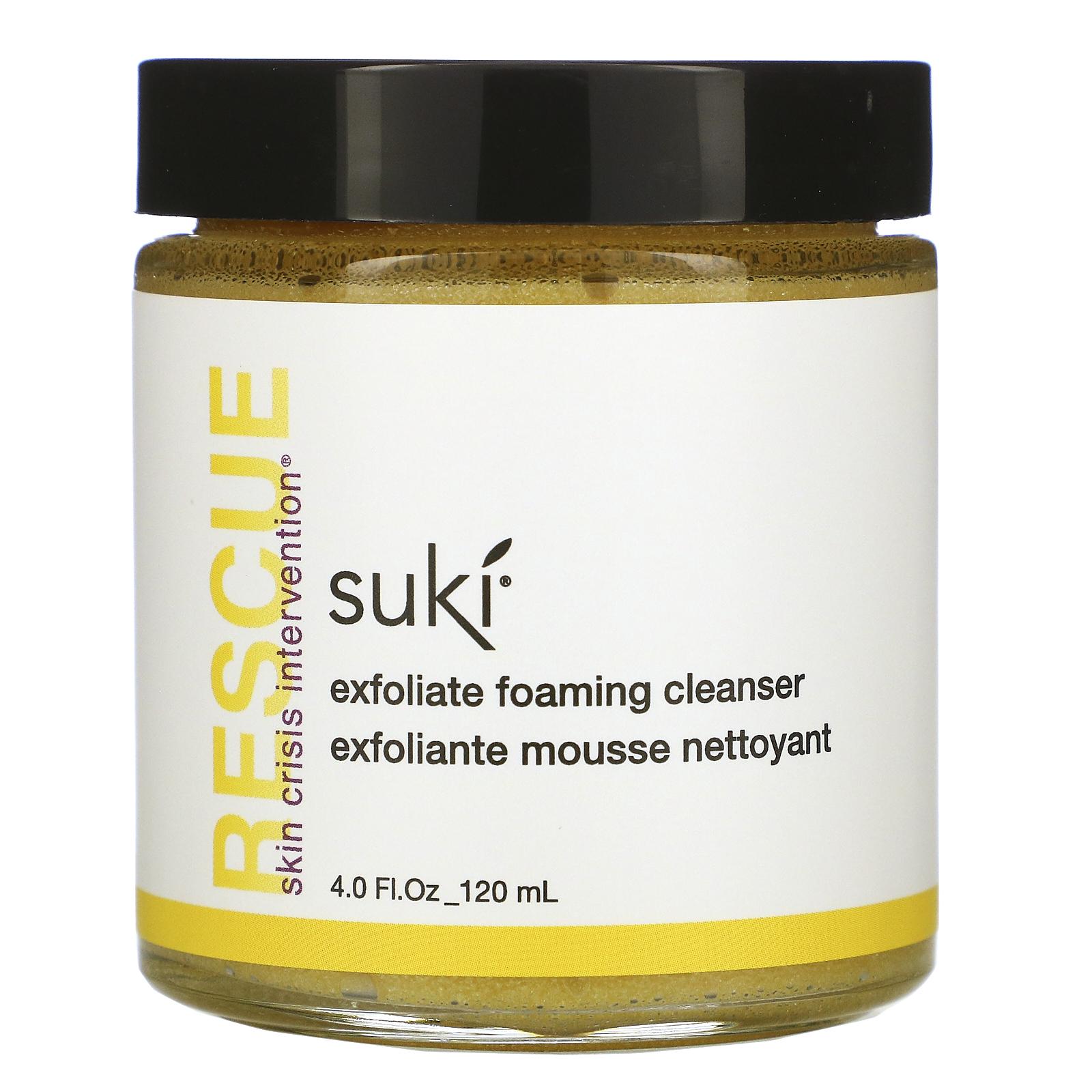 Suki, レスキュー、ピーリング発泡クレンザー、120ml(4液量オンス)