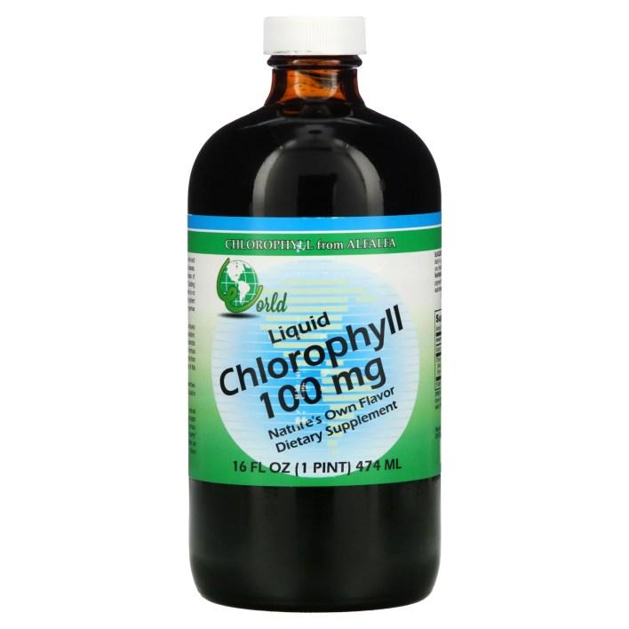 11 - الكلوروفيل السائل