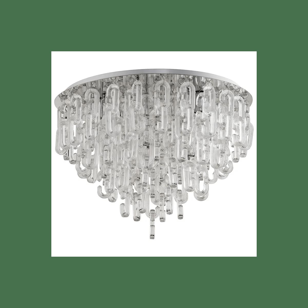 cyan design centaurus six light ceiling mount