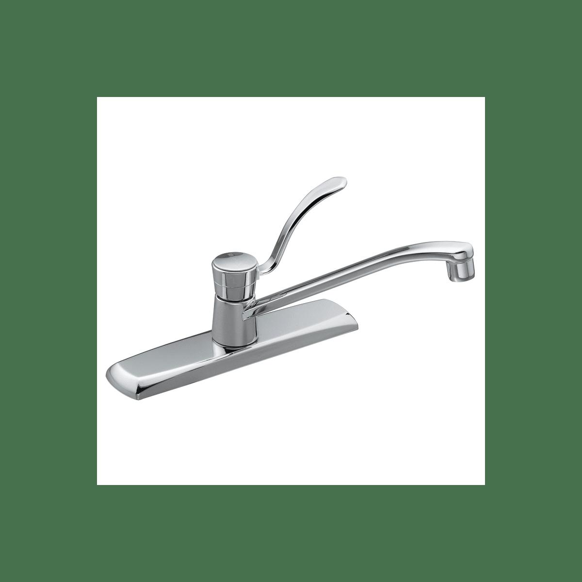 moen 7300 chrome single handle kitchen