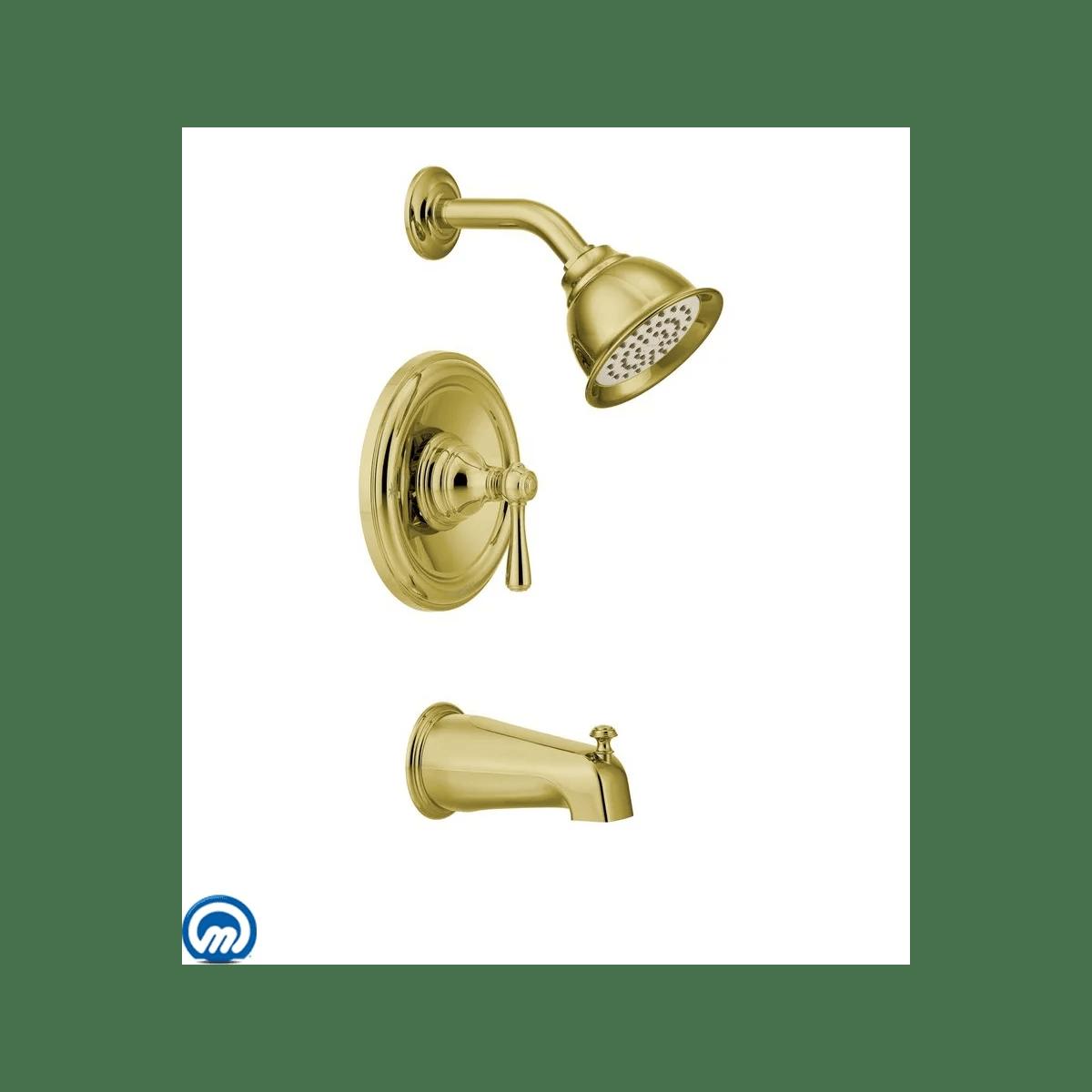 Moen T2113p Polished Brass Single Handle Posi Temp Pressure
