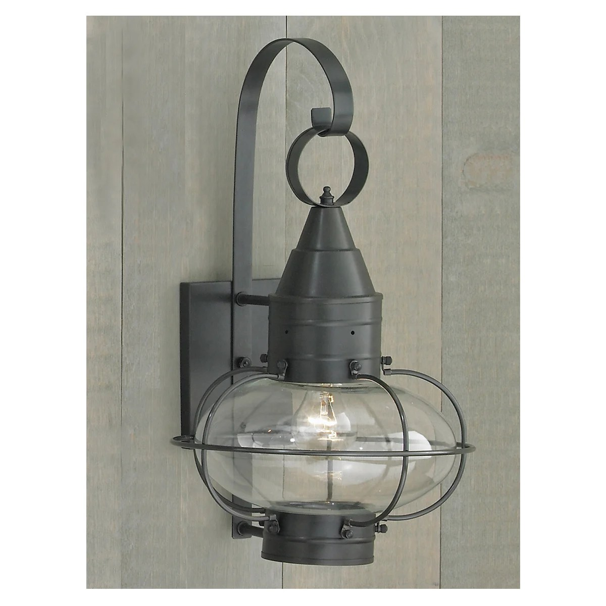 norwell lighting 1512 bl cl black with