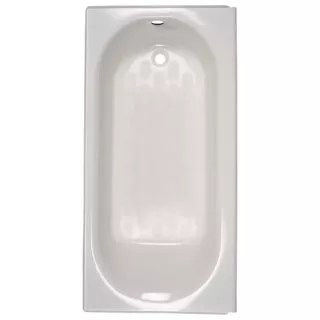 American Standard 2391202TC020 White Princeton 60 Americast Soaking Bathtub With Right Hand