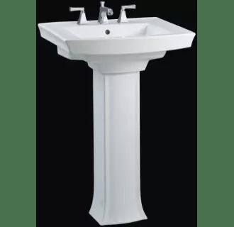 0 archer pedestal bathroom sink with