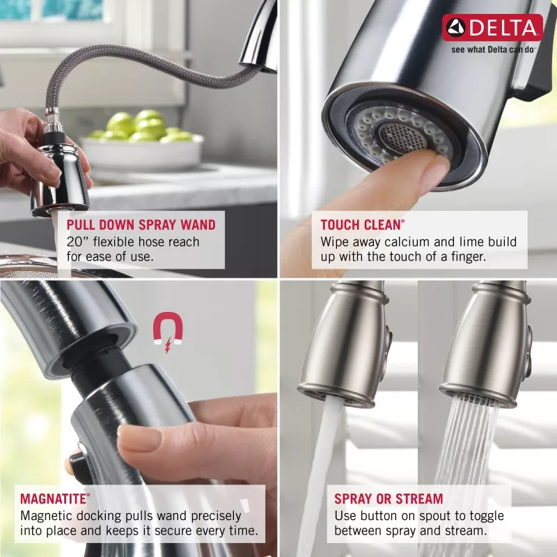Delta-9113-DST-Features of this Faucet in Full Size