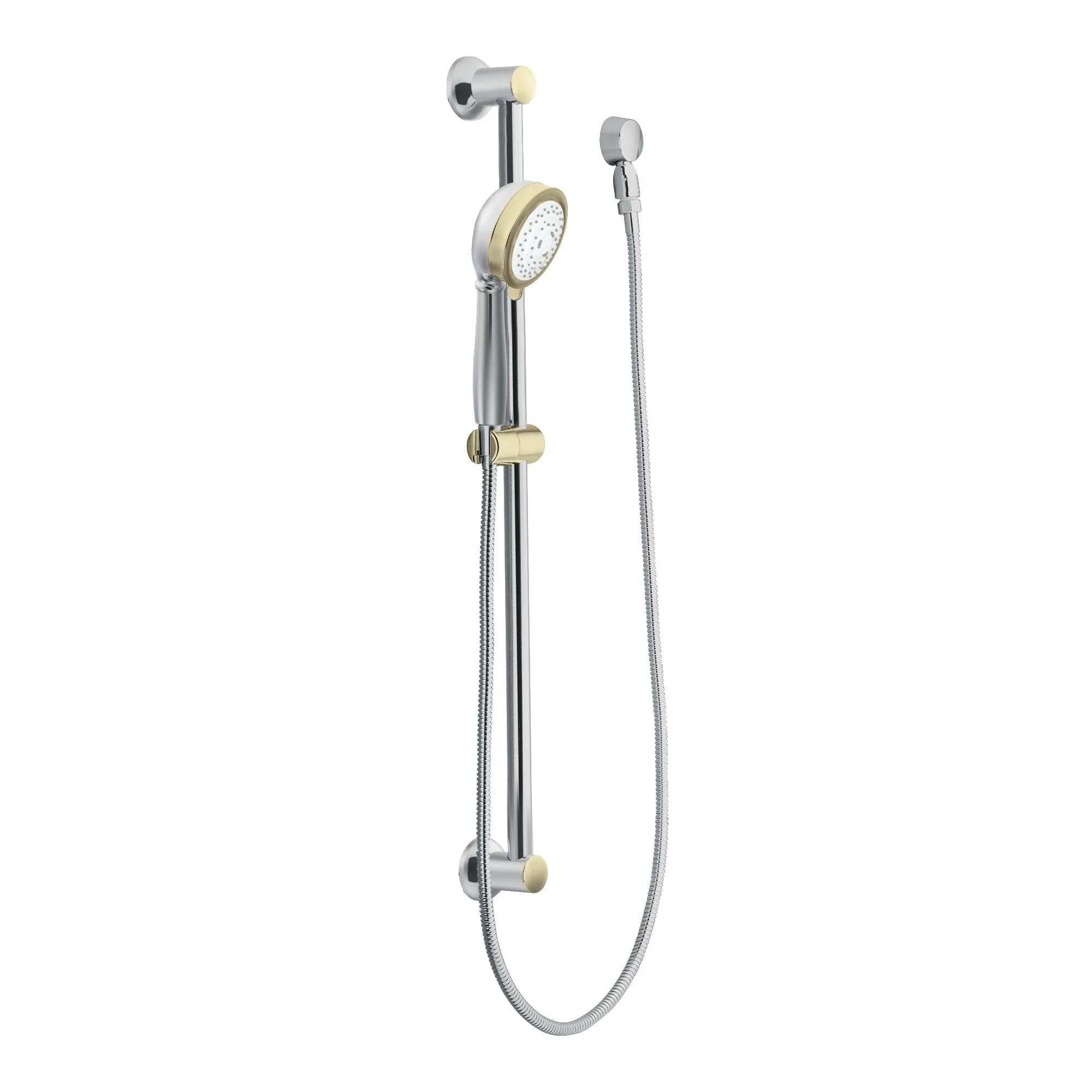 Moen 3867cp Chrome Polished Brass Multi Function Hand Shower