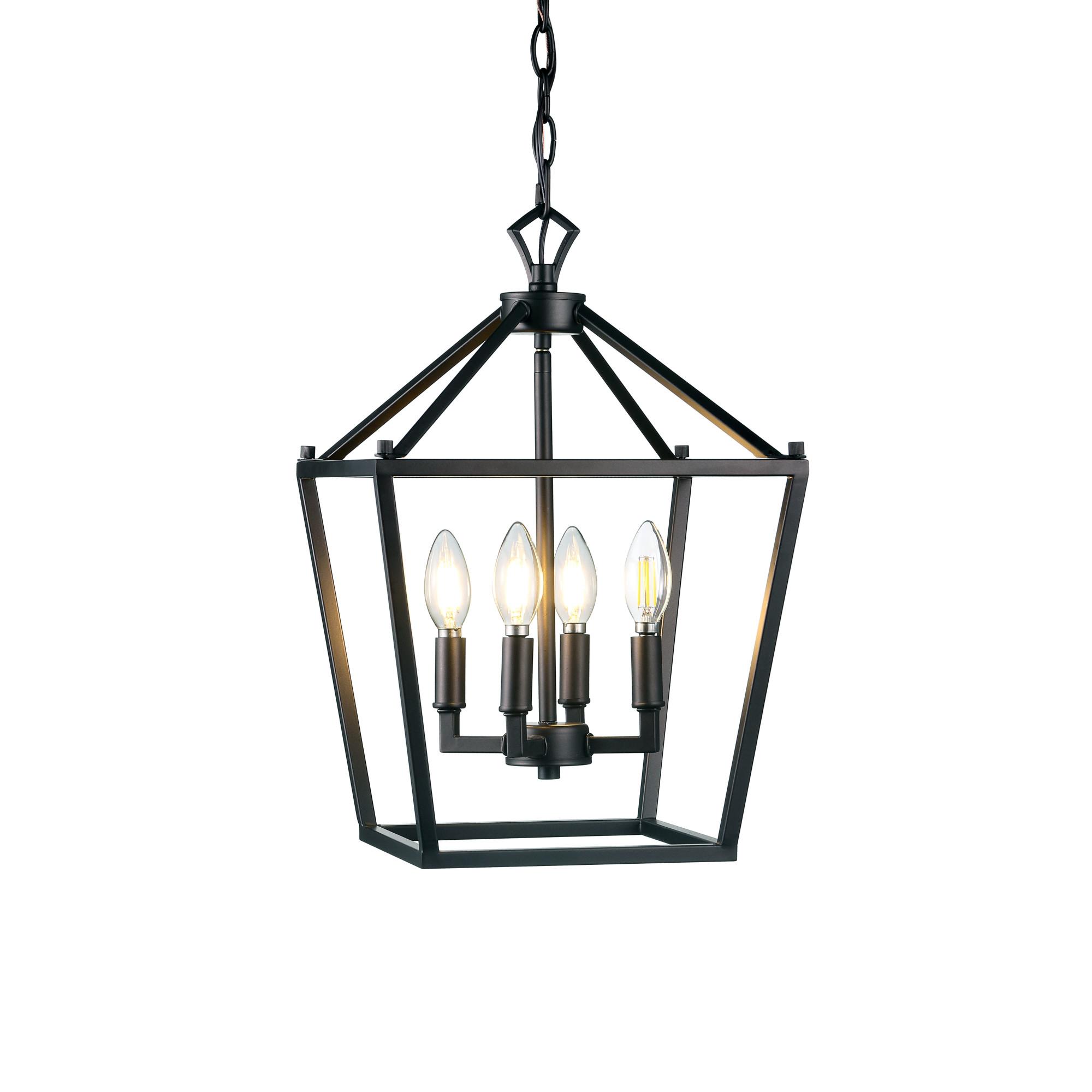 Jonathan Y Lighting Jyl Pagoda 4 Light 12 Wide Led