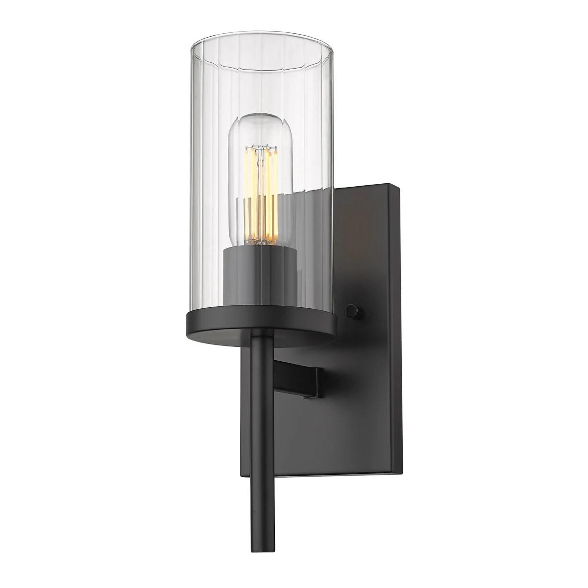 golden lighting 7011 1w blk clr