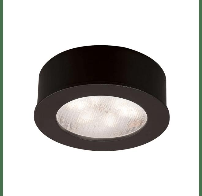 wac lighting hr led87 27 bk