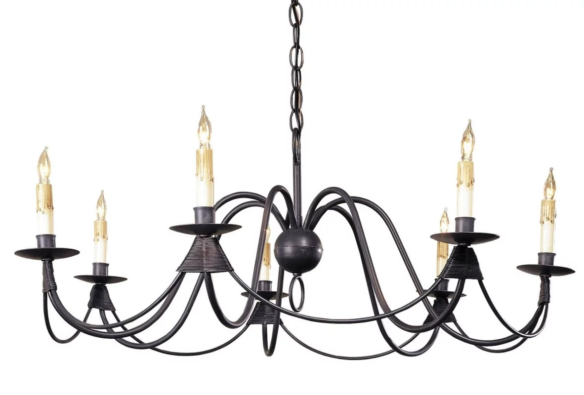 Currey And Company Antique Bronze French Nouveau Chandelier With Customizable Shades