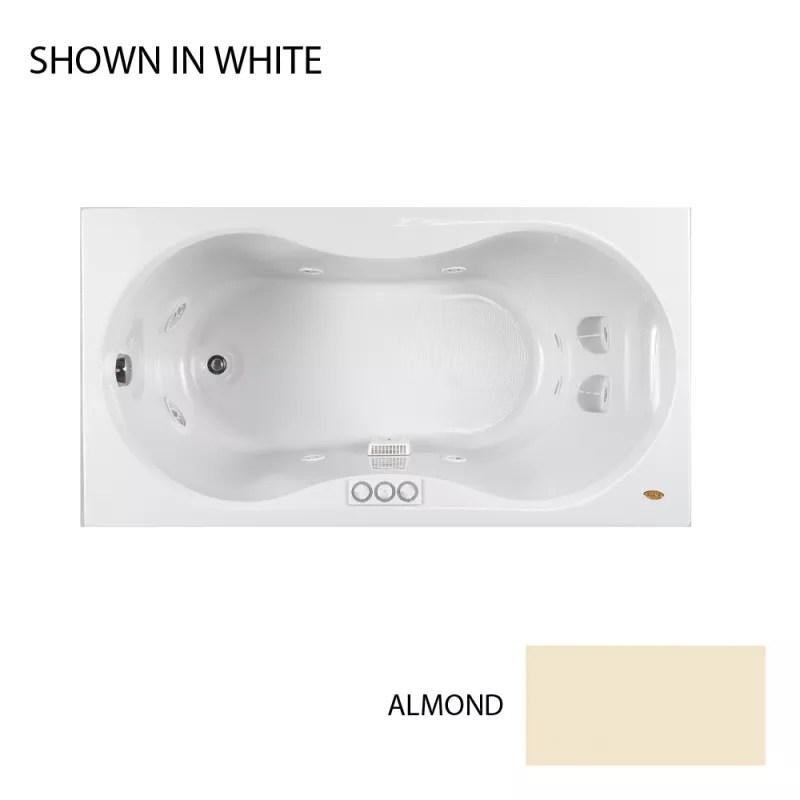 Jacuzzi ESP6032WLR1XXA Almond 60 X 32 Espree Drop In
