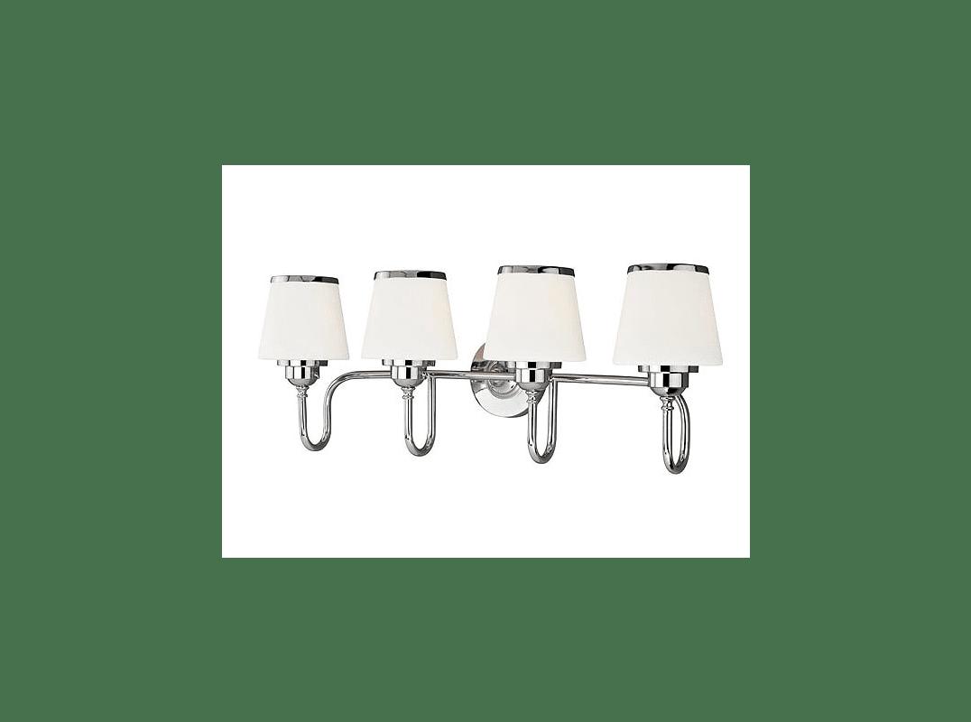 Vaxcel Lighting W Chrome Kelsy 4 Light Vanity Light