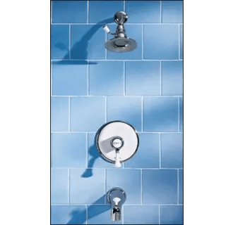 American Standard T6282 Chrome Single Handle Pressure
