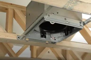 how to install a bathroom fan