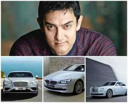 Image result for images of aamir khan cars