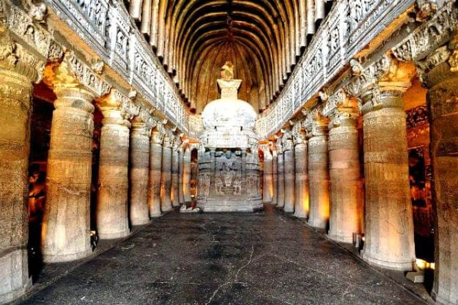 Image result for ajanta caves photography