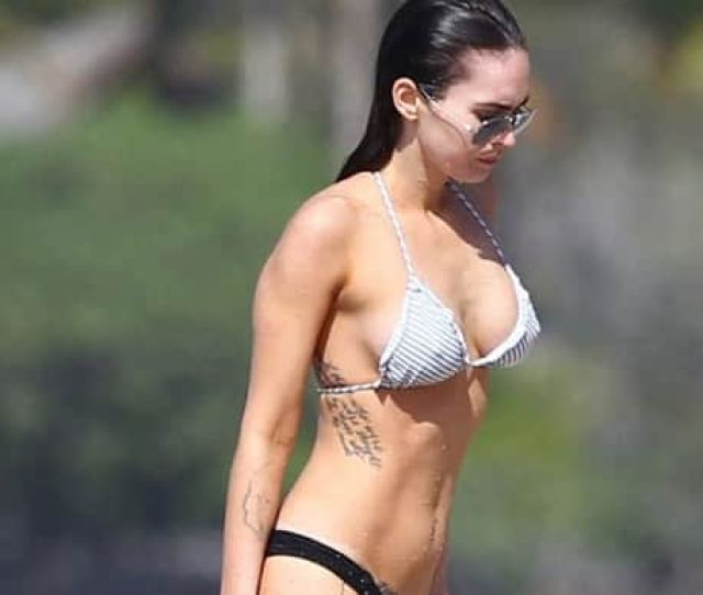 Sexy Megan Fox Turns  Take A Look At Her Different Tattoos And