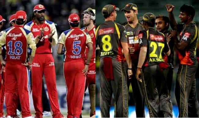 IPL 2014, RCB vs SRH: A glance at their previous IPL duels ...
