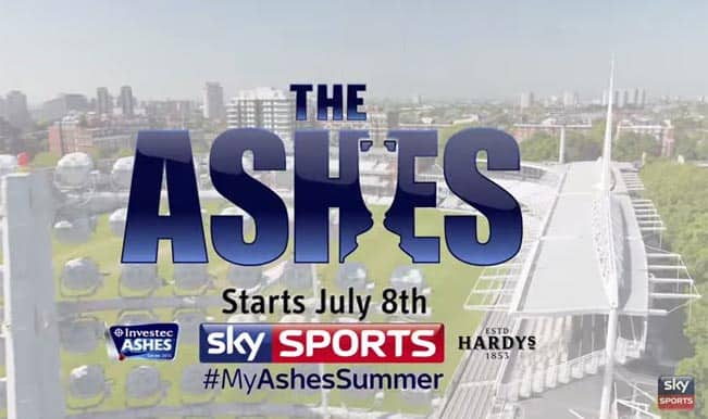 Ashes starts July 8 2015