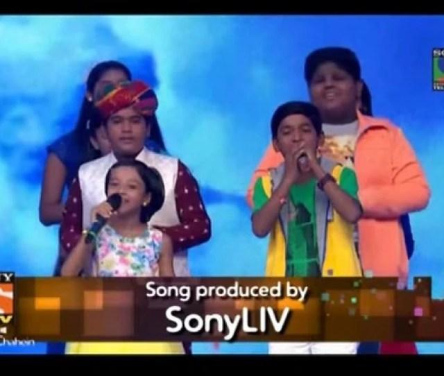 Indian Idol Junior 2015 Song Choona Hai Aasma Top 10 Contestants Sing New Anthem