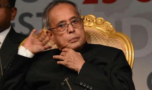 President Pranab Mukherjee (file image)