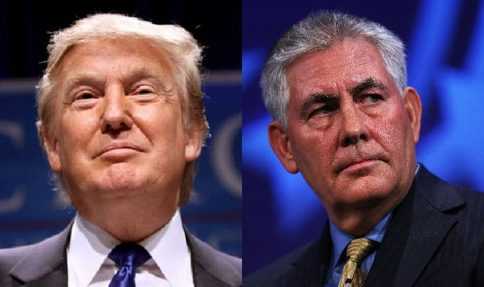 Image result for secretary of state rex tillerson and Donald Trump
