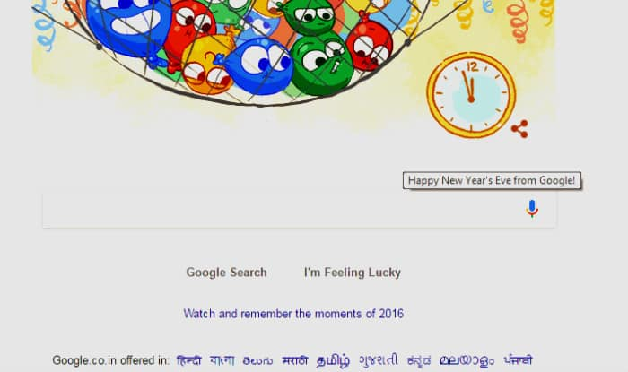 google new year wishes