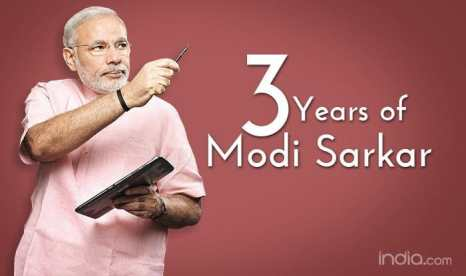 Image result for 3 years of modi government