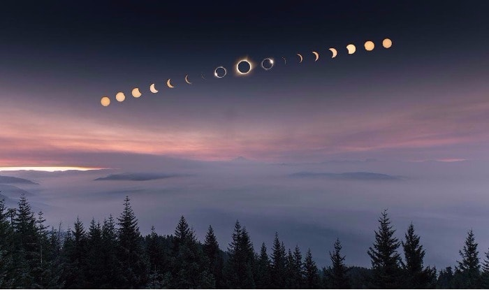 Image result for total american eclipse 2017 pictures