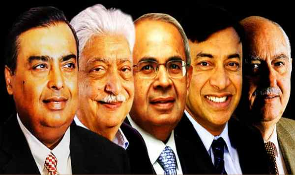 List of Richest Indian Businessmen: Mukesh Ambani Tops the ...