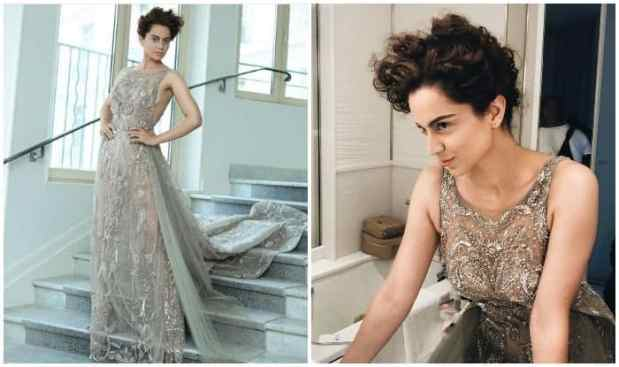 Image result for cannes film festival 2018 kangana