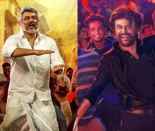 Petta Box Office Collection Day 2 Ajiths Viswasam Does Better Than Rajinikanths Petta In Tamil