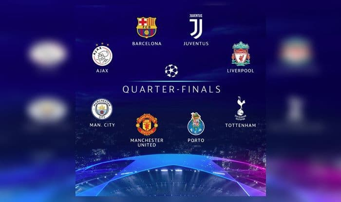 Image result for champions league quarter final draw