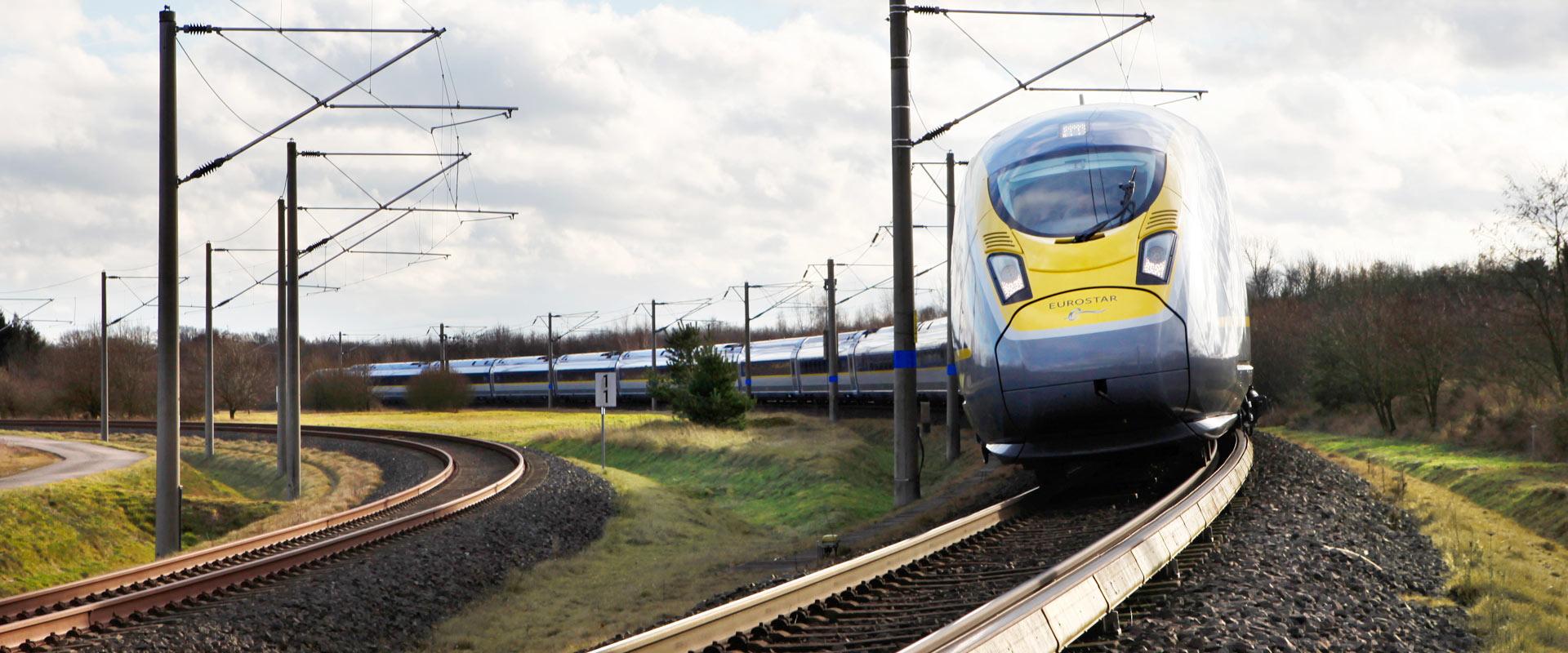 Trem de Londres para Amsterdam