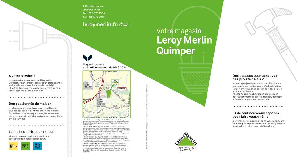 Leroy Merlin Quimper Votre Magasin Leroymerlin Fr Manualzz