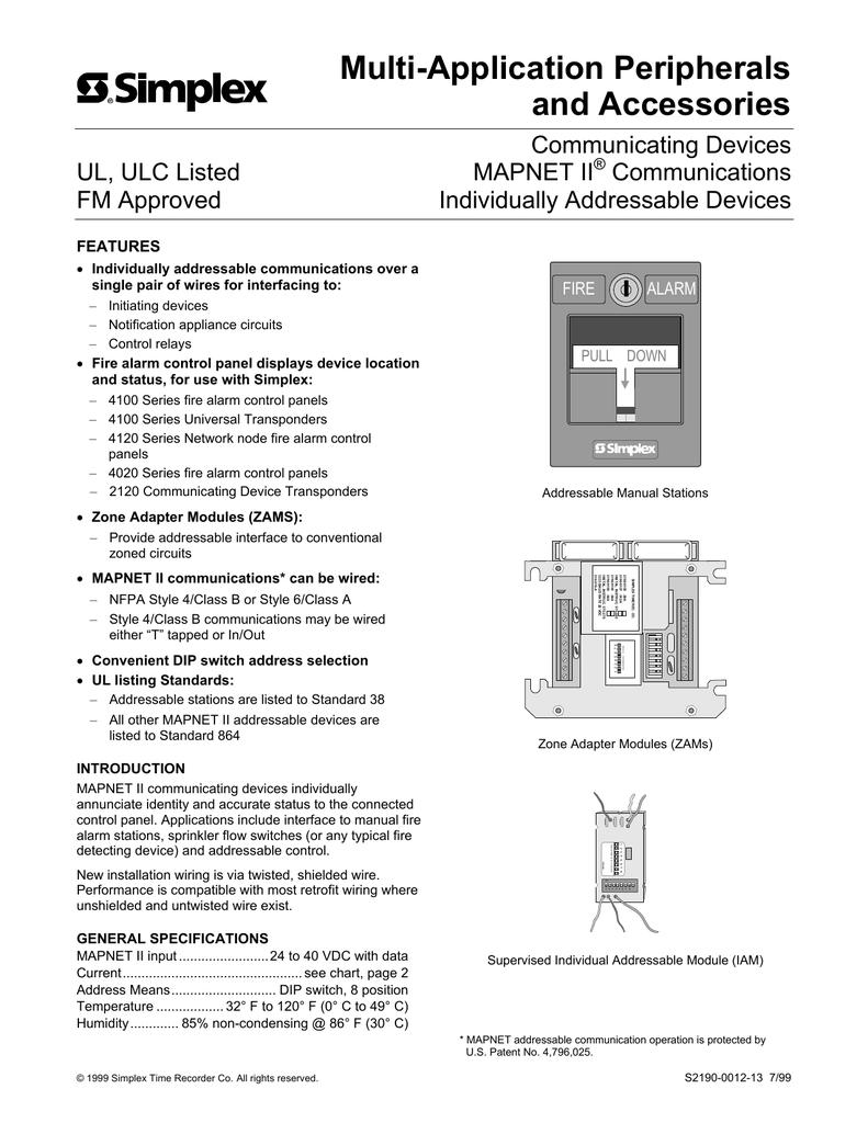 simplex 4002 fire alarm panel data sheet Asliaetherairco