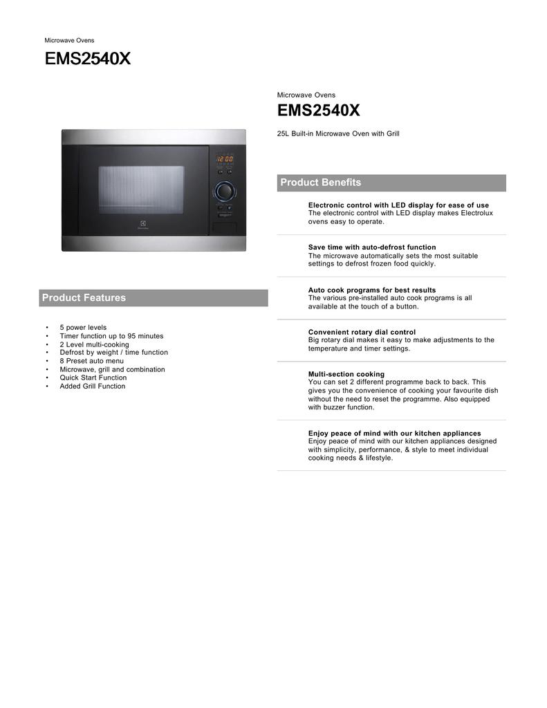 ems2540x electrolux manualzz