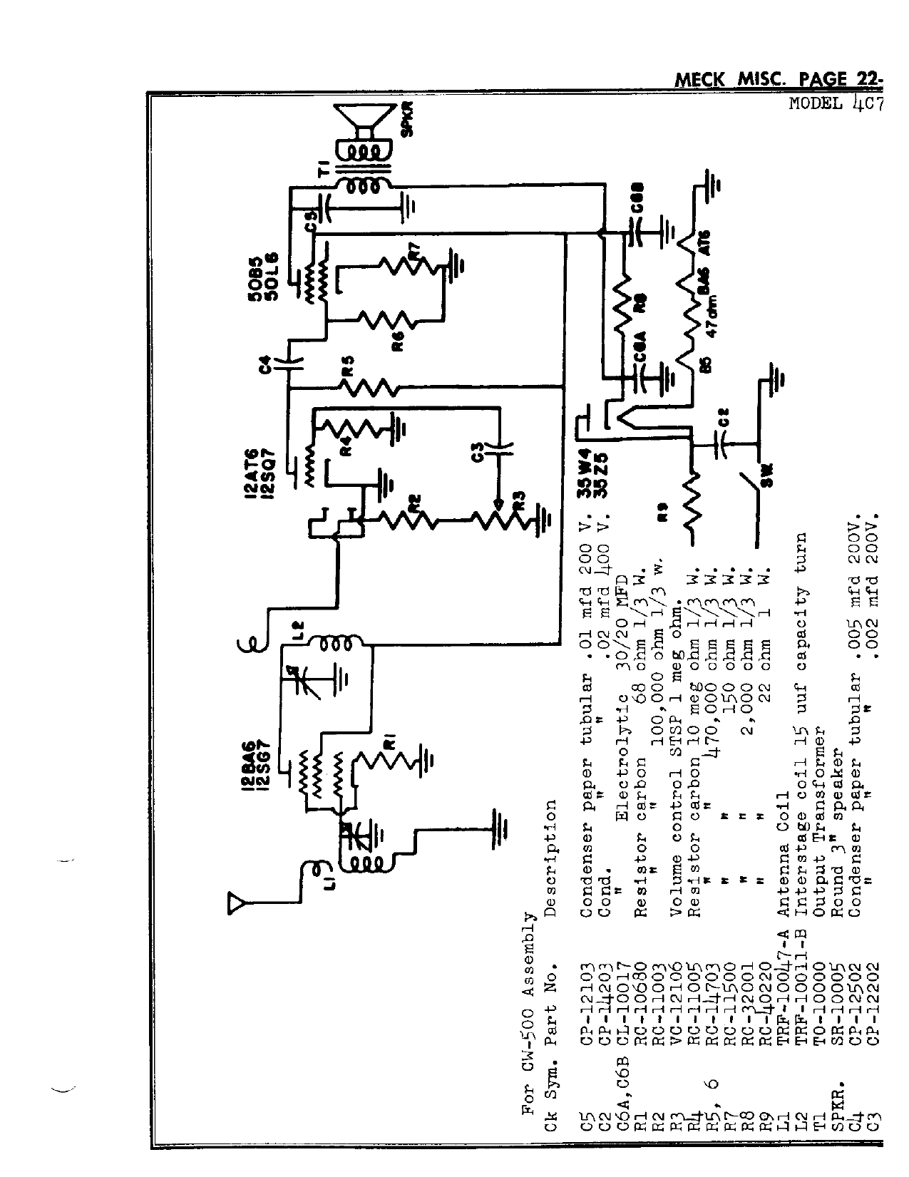 Miele Wiring Diagram