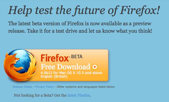 Firefox 4b12