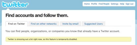 Twitter search #fail