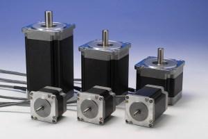 stepper motors of various lengths