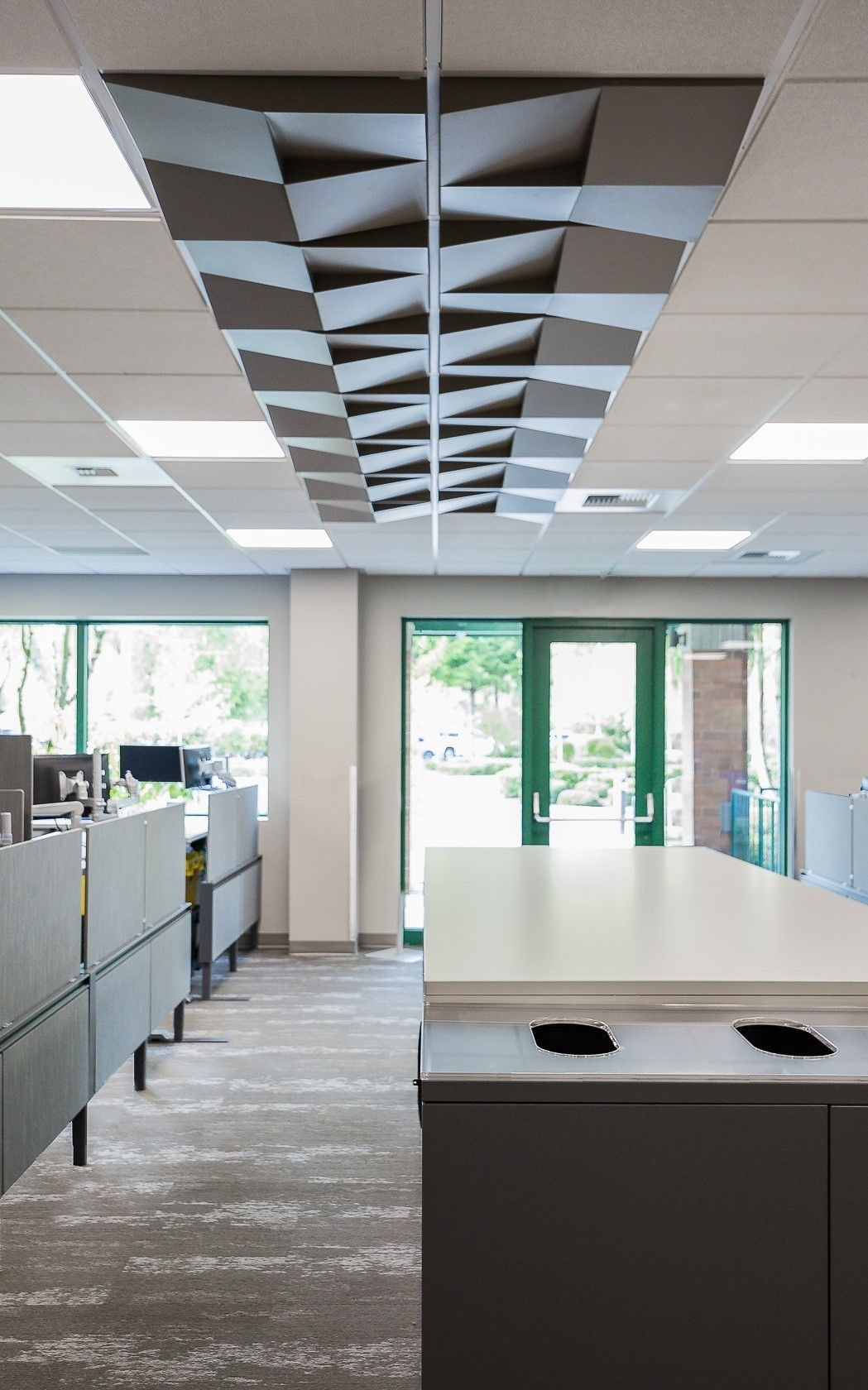 credit union quad wedge ceiling tile