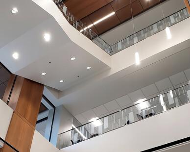 suspended stairway chandelier lighting