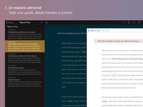 Ulysses – La app de escritura definitiva Screenshot