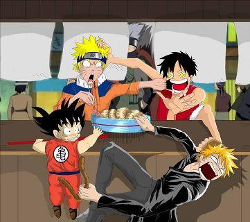 Make your device cooler and more beautiful. Goku Vs Ichigo Vs Naruto Vs Luffy Wiki Anime Amino