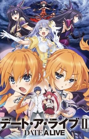 Image result for Date A Live 2 poster