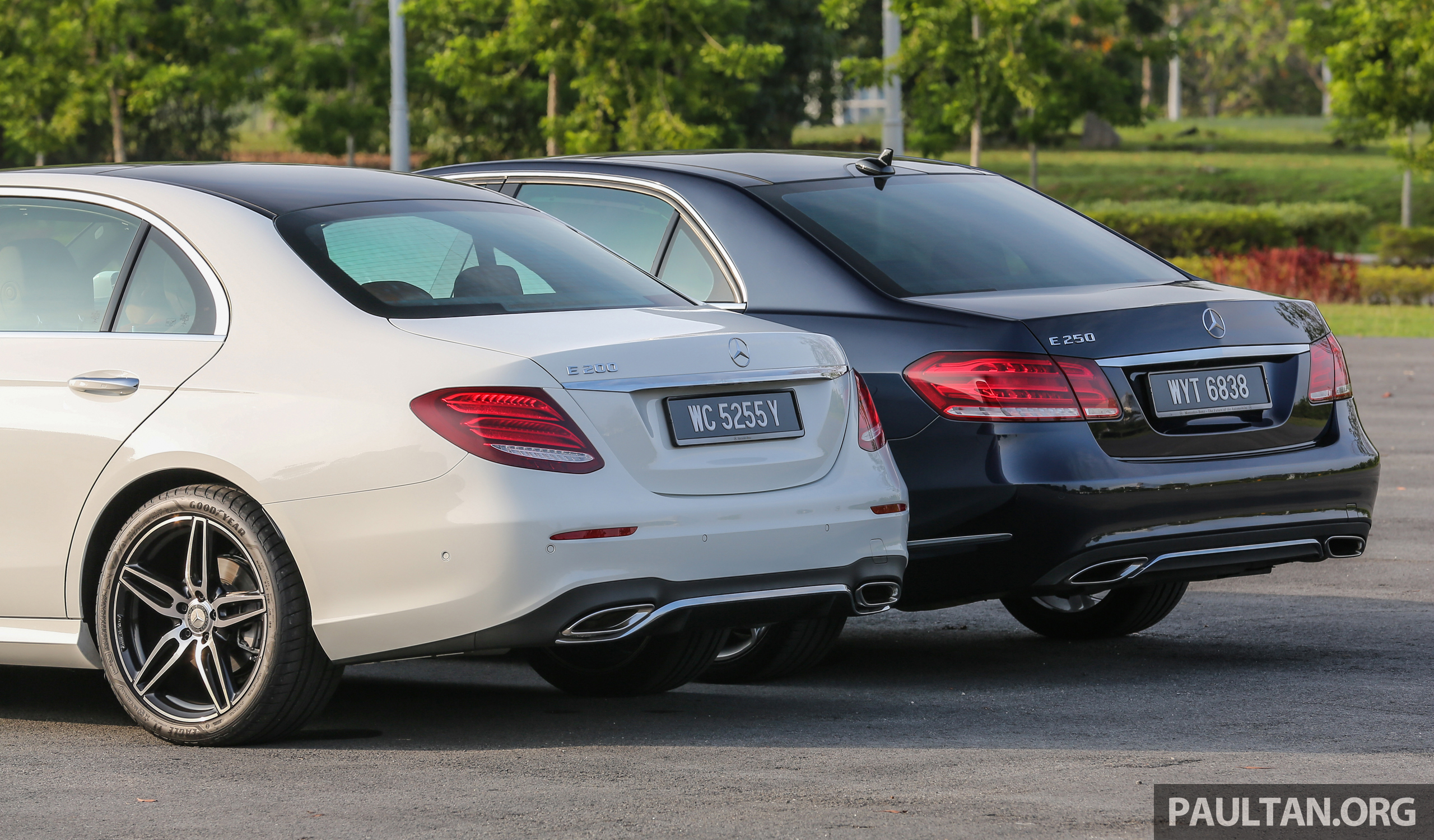 GALLERY Mercedes Benz E Class W213 Vs W212 Paul Tan