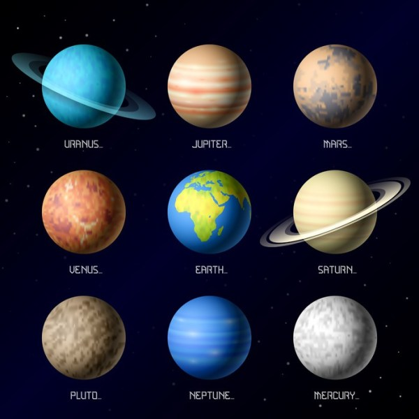Planets of Solar System Poster • Pixers® • We live to change