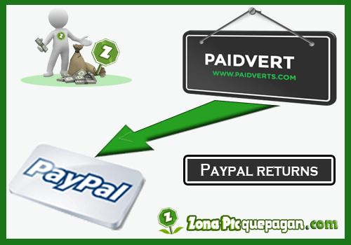 Paypal retorna a paidverts