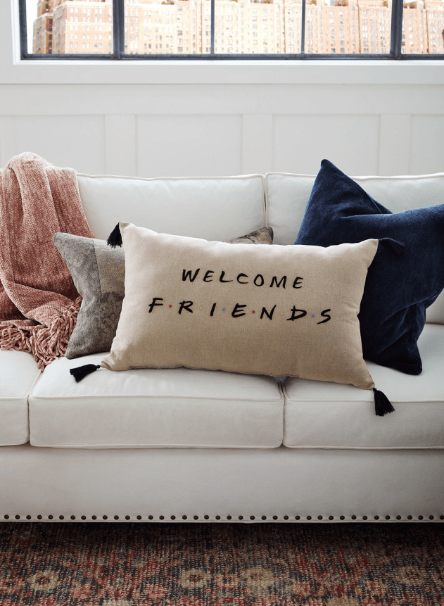 friends pottery barn line brings nyc